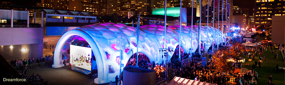 Dreamforce inflatable structure